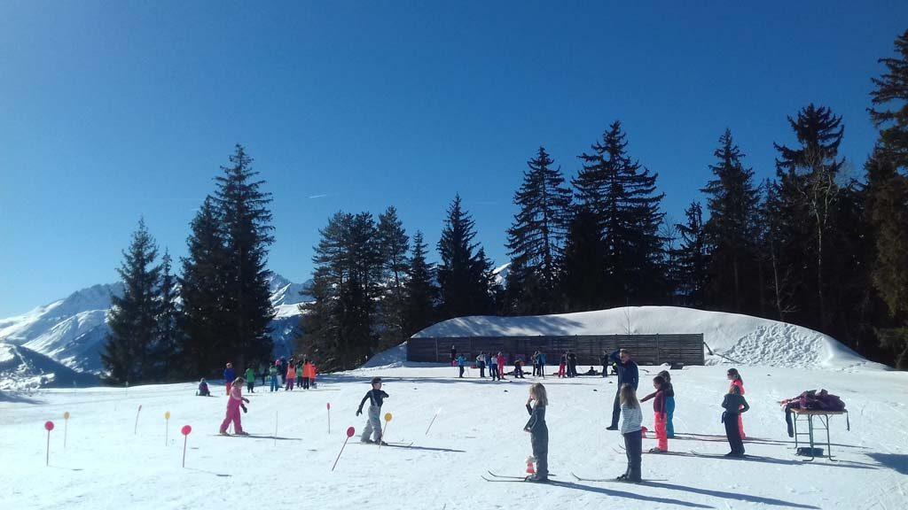 Cours de ski de fond scolaires
