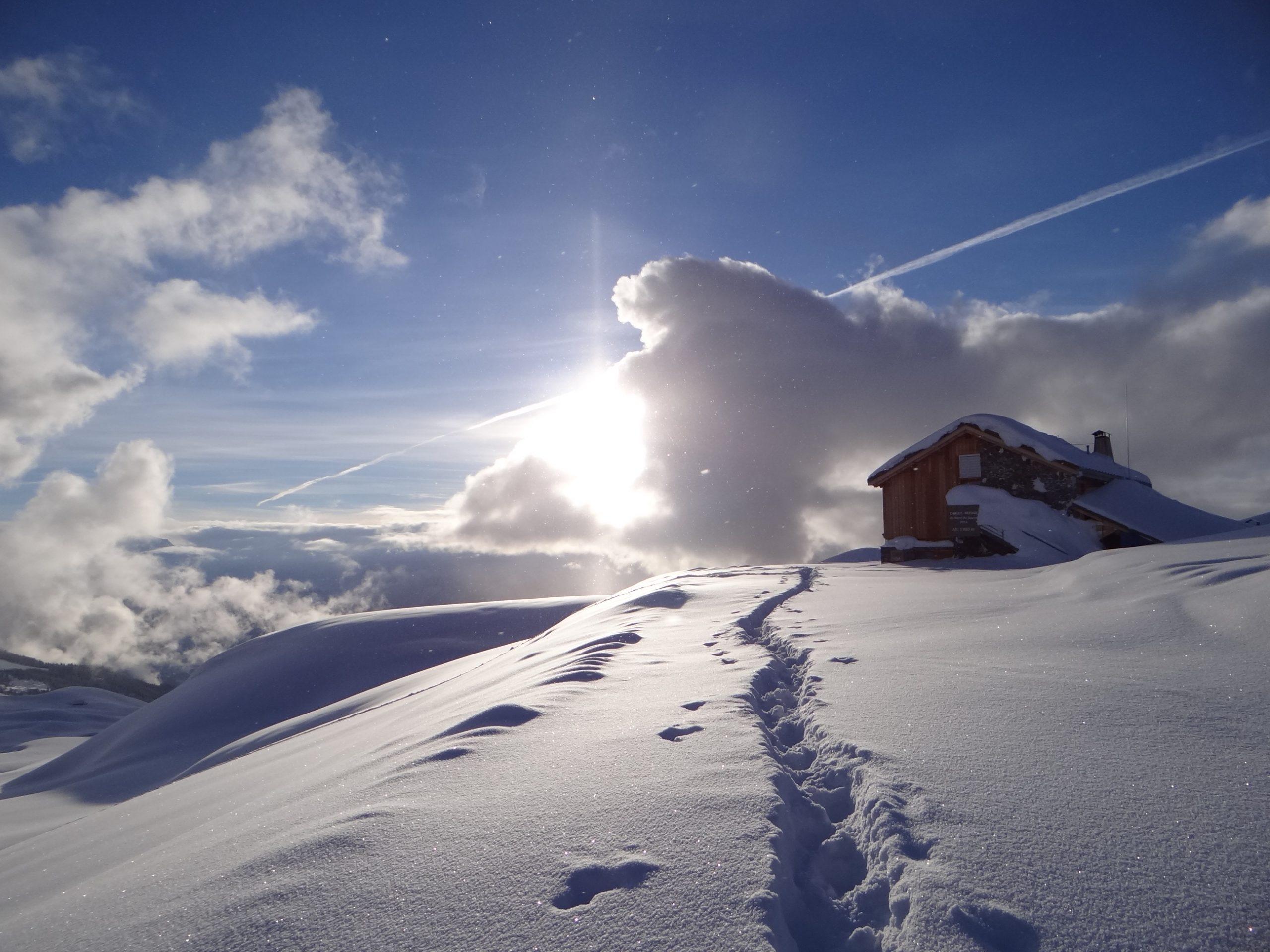 Maison de la montagne de Nâves refuge du Nant du Beurre