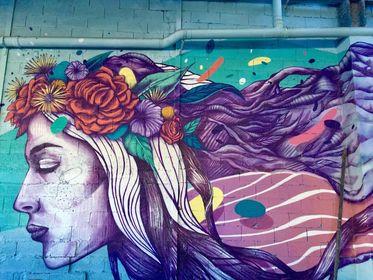 Maison de la montagne de Nâves street art Moutiers