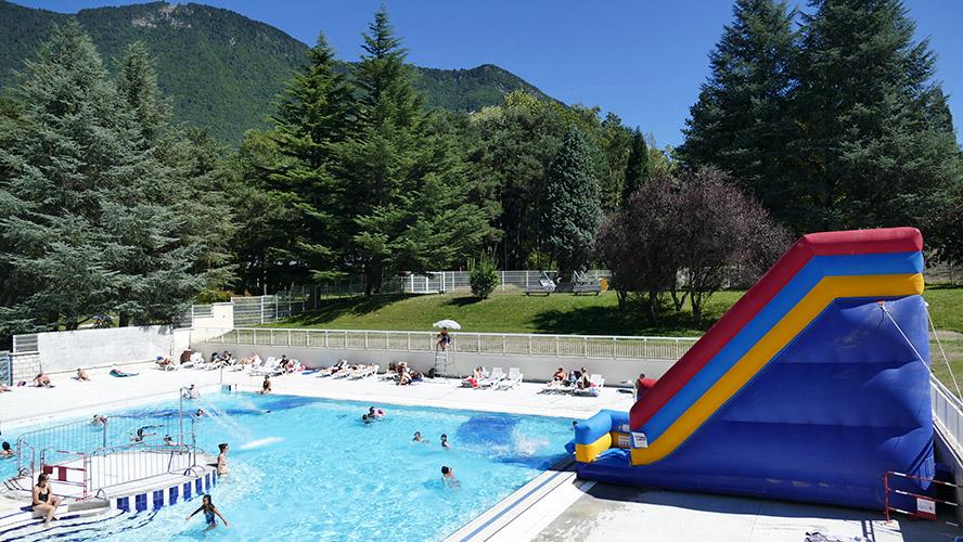 Maison de la montagne piscine du Morel